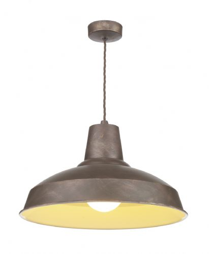 Reclamation Pendant Bronze/White inner REC0163 (7-10 day Delivery) (Double Insulated)